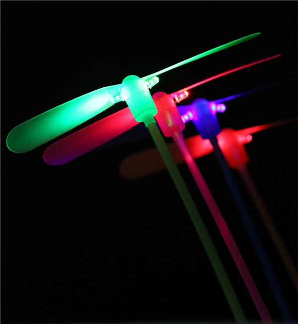 dragonfly lightsaber flying toys christmas toys 2pcs led flying dragonfly helicopter boomerang frisbee flash child toy gift auho rave lights