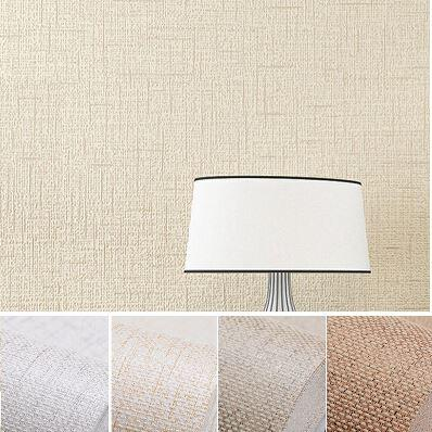 Faux Grasscloth Modern Wallpaper Simple Texture Wall Paper Bedroom And Office Roll Solid Color BeigeOff WhiteBrown Vision Nursery
