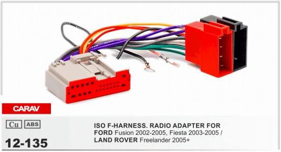 Carav 12 135 Iso F Harnessradio Adapter For Ford Fusion Fiesta Rhdhgate: Ford Wiring Harness Adapter At Gmaili.net