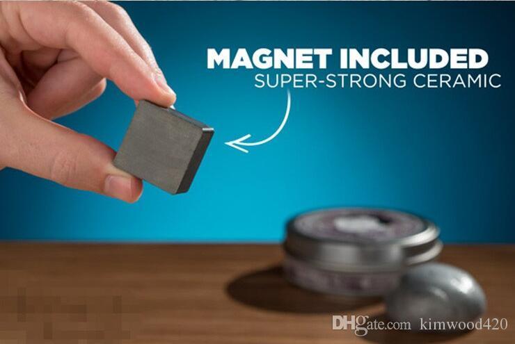 Marke handspachtel diy denken schleim knetmasse magnetische gummi schlamm starke plastilin spachtel magnetische ton viskose bildung spielzeug kinder geschenk