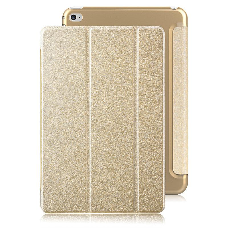 New mooke color shining gold fundas tablet cases for ipad mini 4 new mooke color shining gold fundas tablet cases for ipad mini 4 retina 79 inch pu leather folding smart cover stand tablet case and keyboard tablet sleeve thecheapjerseys Image collections