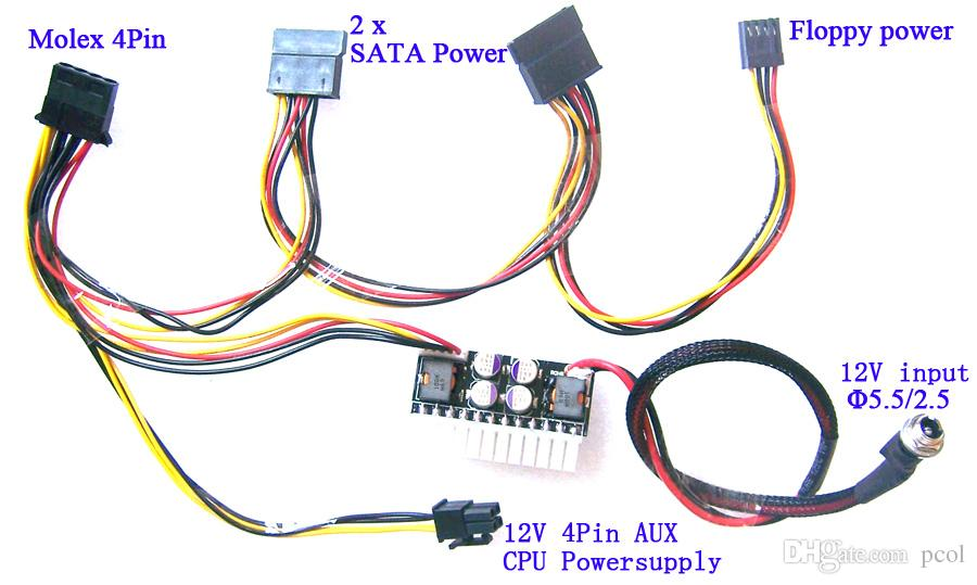 Pc Power Supply Wiring - WIRE Center •