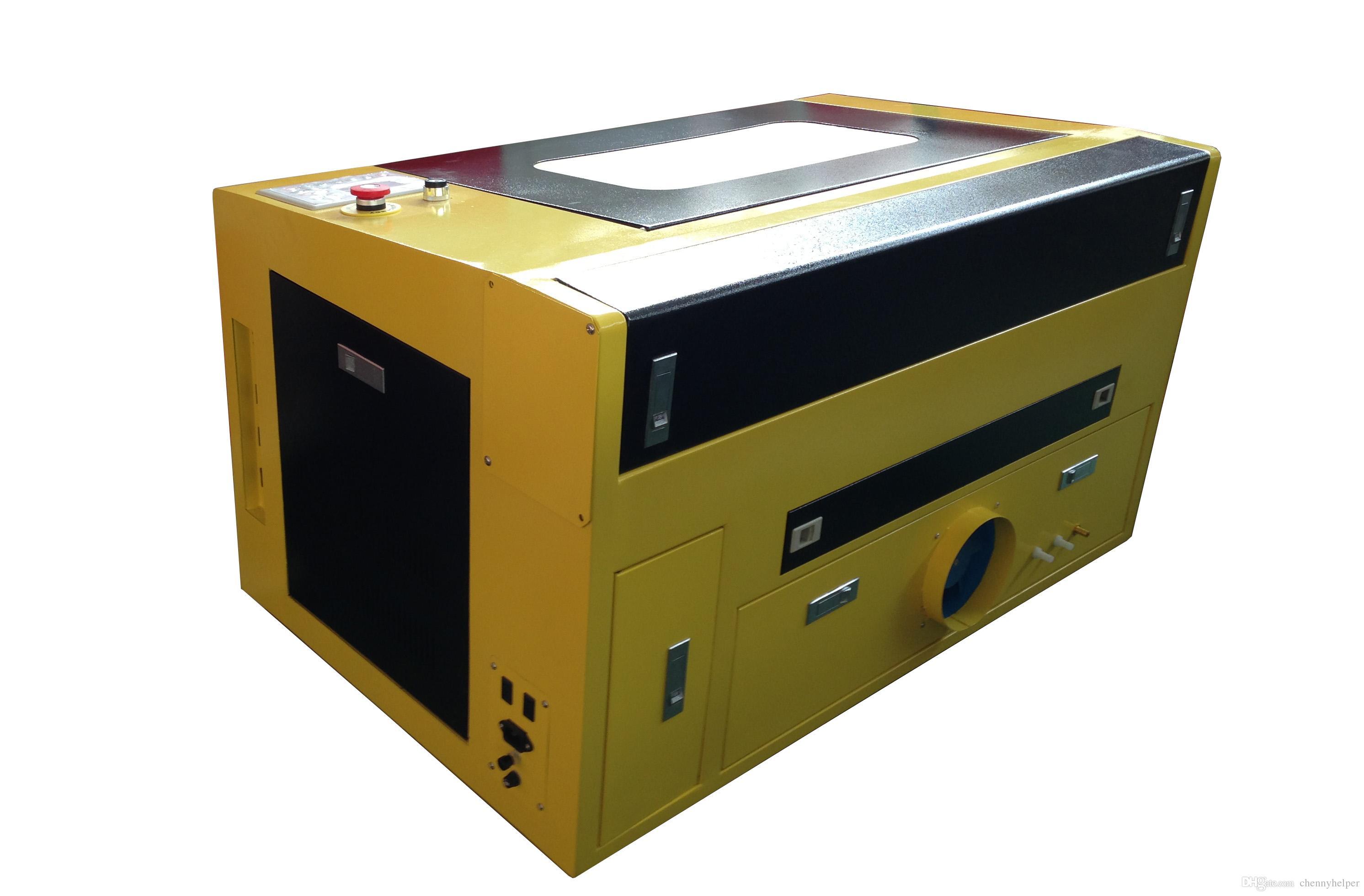 5030 50 واط 500x300 ملليمتر عالية الجودة co2 النقش بالليزر آلة قطع حفارة حفارة لالاكريليك
