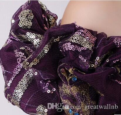 100% Real Fioletowy / Złoty Kwiatowy Średniowieczna Renesansowa Suknia Królowa Sukienka Wiktoriański Gothic / Marie Antoinette / Drivial War / Colonial Belle Ball
