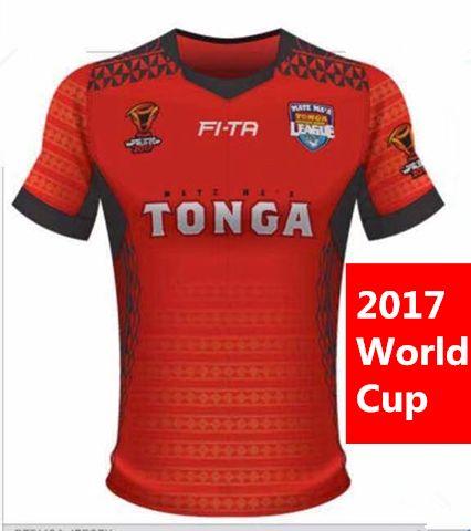 85926f9bf93 2019 New Tonga 2017 World Cup Jersey Rugby Shirt 2018 TONGA Rugby Jerseys  FI TA League Shirts S 3xl From Mufasa shop