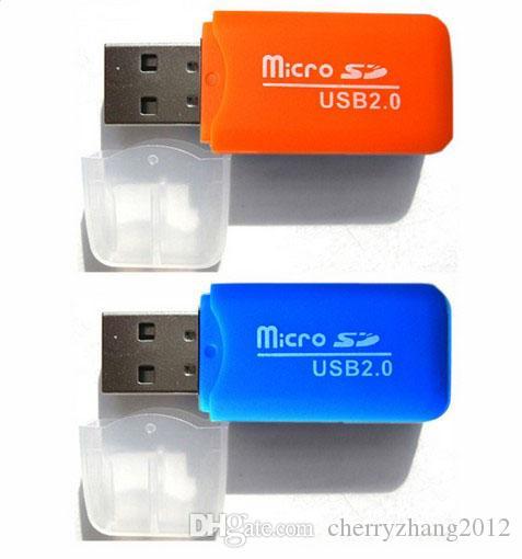 Yüksek Hızlı USB 2.0 Mikro SD kart T-Flash TF Hafıza Kartı Okuyucu adaptörü 2 gb 4 gb 8 gb 16 gb 32 gb Ücretsiz Kargo