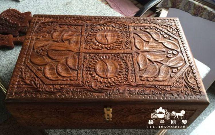 Pakistans Highend Boutique Jewelry Box Wooden Box Carved Wooden