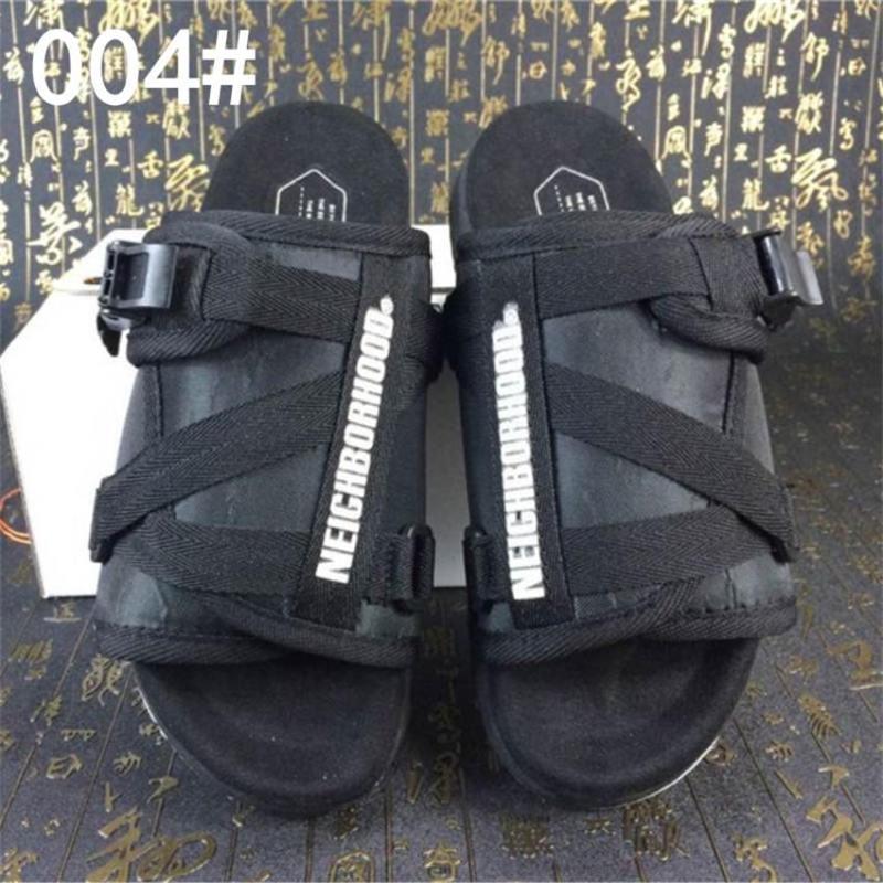 Yeni Marka Visvim Terlik Moda Ayakkabı Adam Ve Kadın Severler Rahat Ayakkabılar Terlik Plaj Sandalet Açık Terlik Hip-Hop Sokak Sandalet