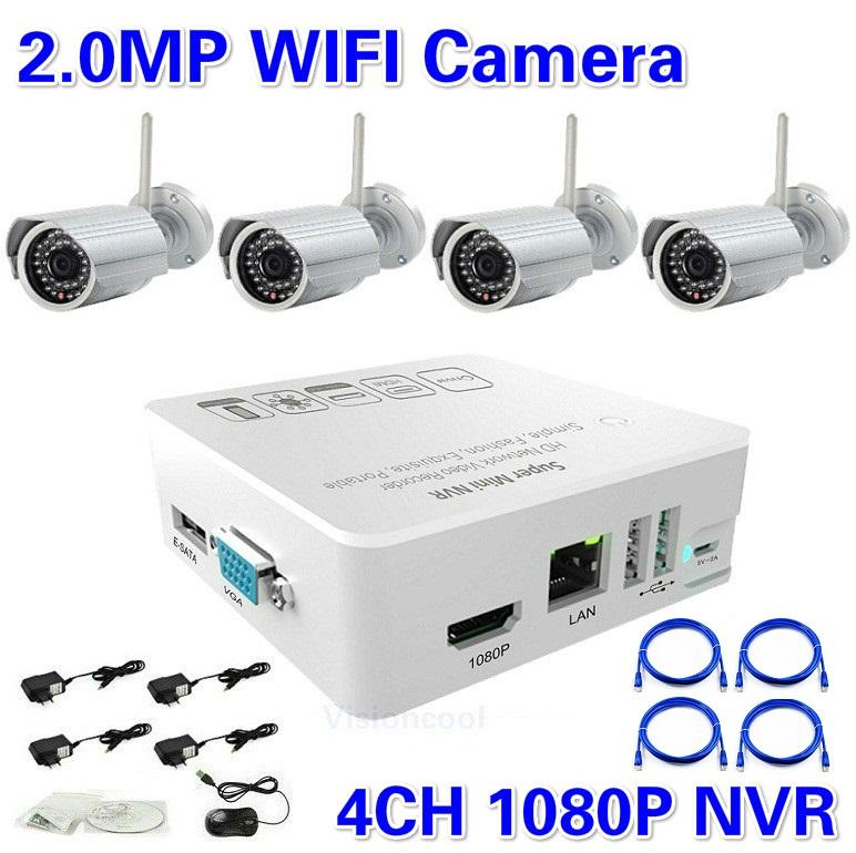 Best Price Hd 4ch Nvr Kit 1080p With 4ch 2 0 Megapixel Ir