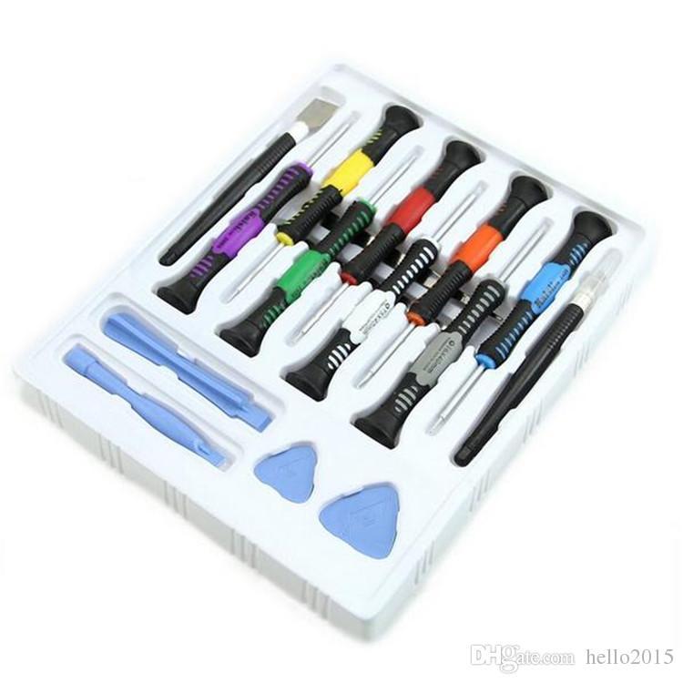 16 in 1 handy handyöffnung reparatur werkzeuge schraubendreher set kit präzision für iphone samsung htc tablet handwerkzeuge