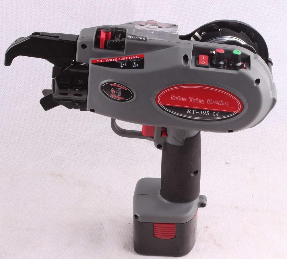 Online Cheap Rt 395 Automatic Rebar Tying Machine, Battery Powered ...