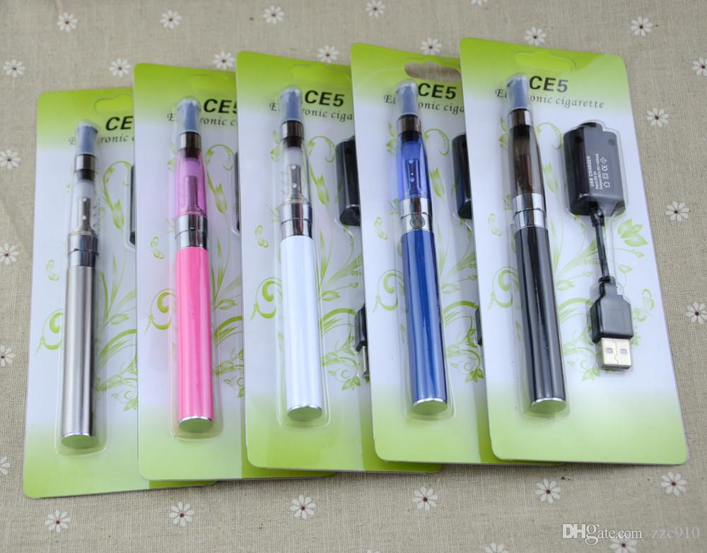 eGo CE5 Kits Blister-Kits E-Zigaretten CE5 Clearomizer ohne Dochte