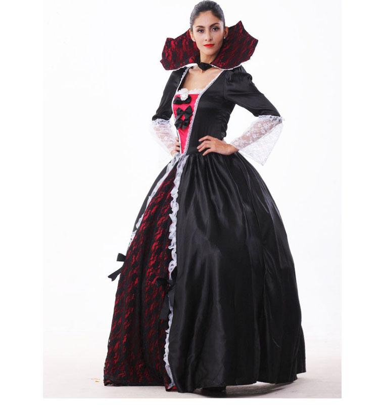 women halloween costume vampire costume demon scary costume party costume for women including dresscollar halloween costumes for adults womens costumes - Scary Vampire Halloween Costumes