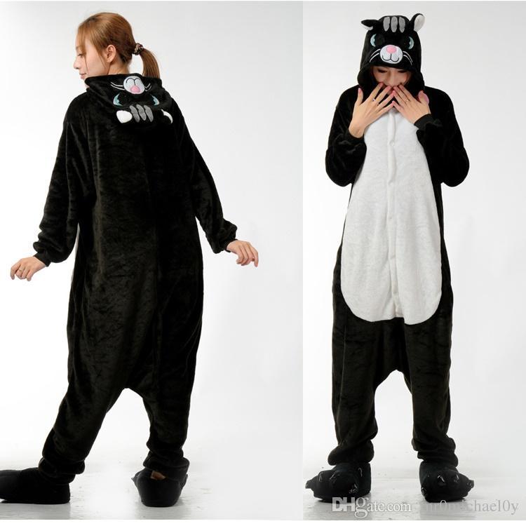 Compre Precioso Gato Animal Onesies Kigurumi Pijamas Onesies Pijamas ...