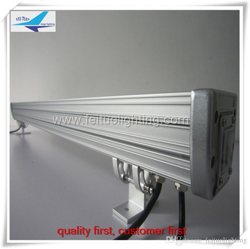 rgb 3in1 tri cor led wall washer luz iluminação de palco 18x3 w ao ar livre luzes led wall washer