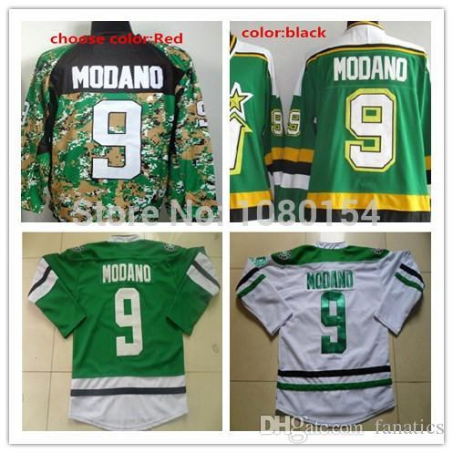 2017 2016 dallas stars 9 mike modano jersey stitched vintage