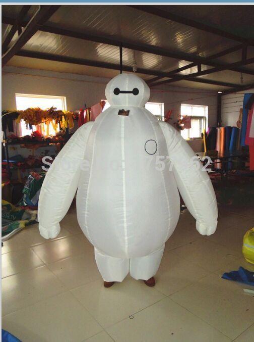 baymax inflating