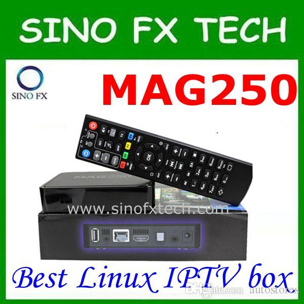 Mejor Linux IPTV box Mag 250 iptv set top box Reproductor multimedia linux o iptv box mag254