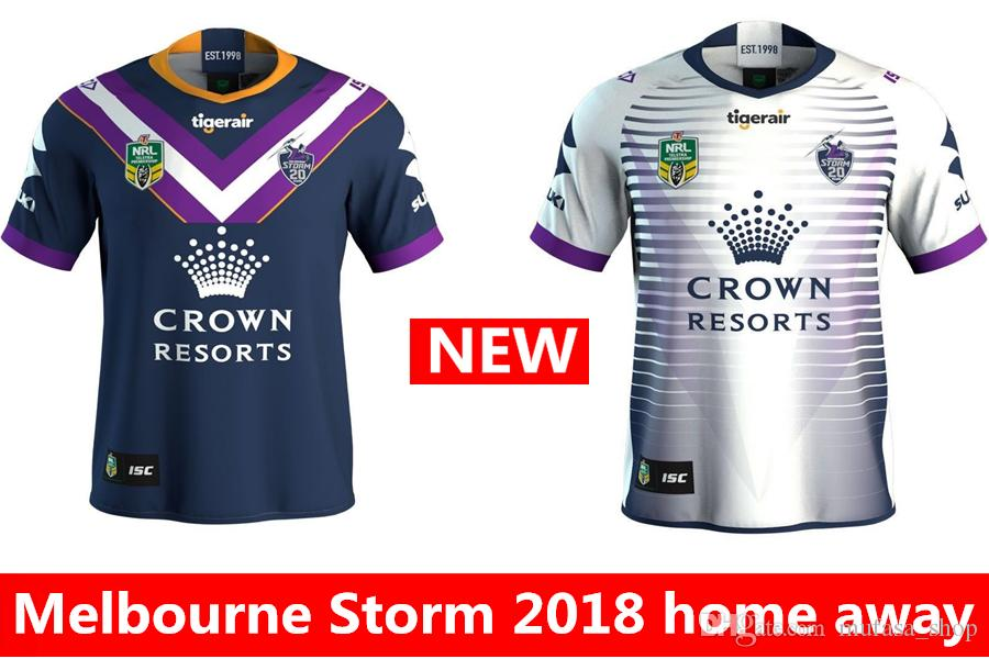 2018 Newest Melbourne Storm 2018 2019 Home Away Rugby