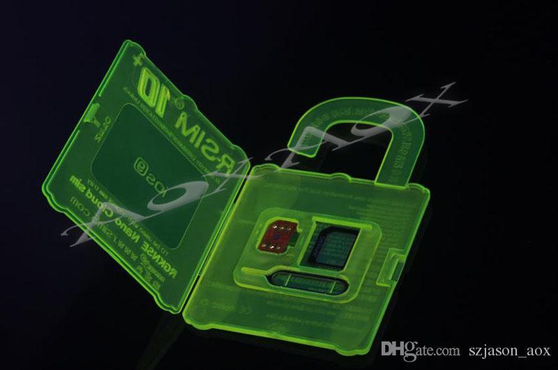 не RSIM 10+ R SIM-10plus RSIM 10+ Rsim10 + разблокировка карты для Iphone 6s 6 5S 5 4S ios9 9.X 3G 4G CDMA Sprint, AU, прямое использование Softbank сек нет Rpatch