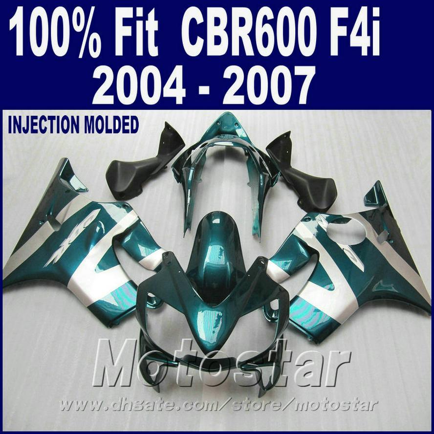 Injection molding for HONDA CBR 600 F4i fairing 2004 2005 2006 2007 ABS cbr600 f4i 04 05 06 07 fairing kit OFED