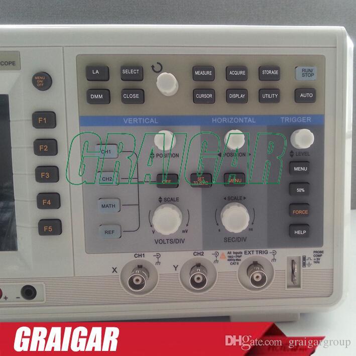 Digital Storage Oscilloscopes UTD4102C 2 channels 100MHz 2GS/s 24 kpts Memory Depth USB Device, USB Host, Pass/Fail, LA Interface, Interface