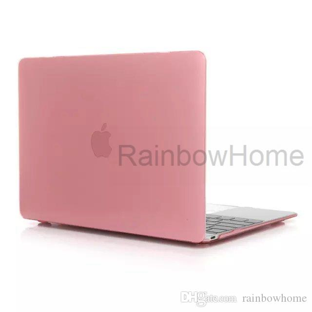 Hard Plastic Slim Clear Crystal Front + Back Protective Case Cover Shell For Macbook Air Pro Retina 11 12 13 15 Retail Box