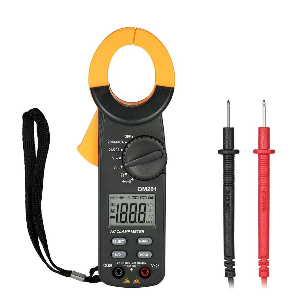 Digital Clamp Meter AC/DC Voltage AC Current meter voltmeter ammeter current clamp Multimeter Resistance Diode Tester