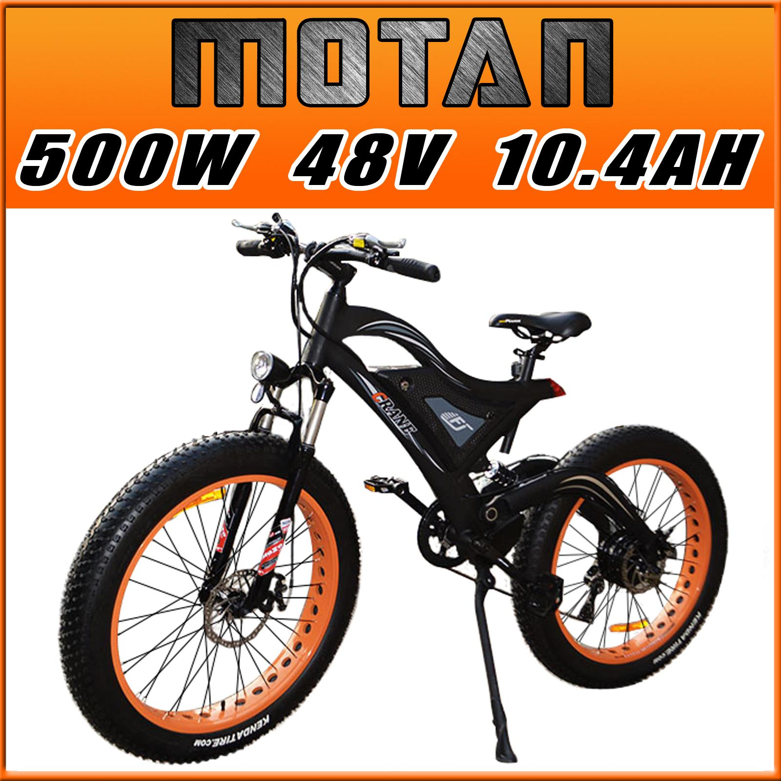 Addmotor Motan Electric Bicycle 500w 48v For Snow Beach All