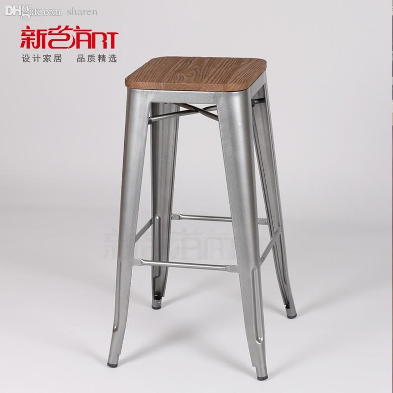 Wholesale Creative Designer Furniture Vintage Metal Bar Chair