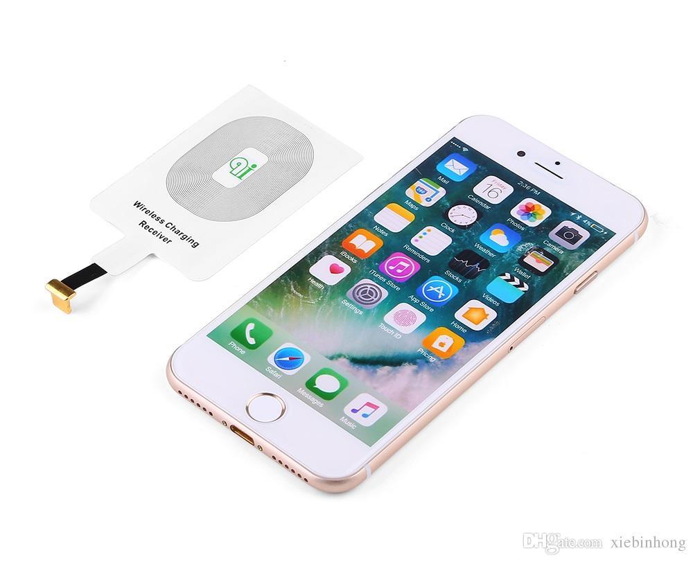 Universal qi sem fio carregador de carregamento pad adaptador de telefone móvel dock station carregador sem fio para iphone x 8 plus samsung s8