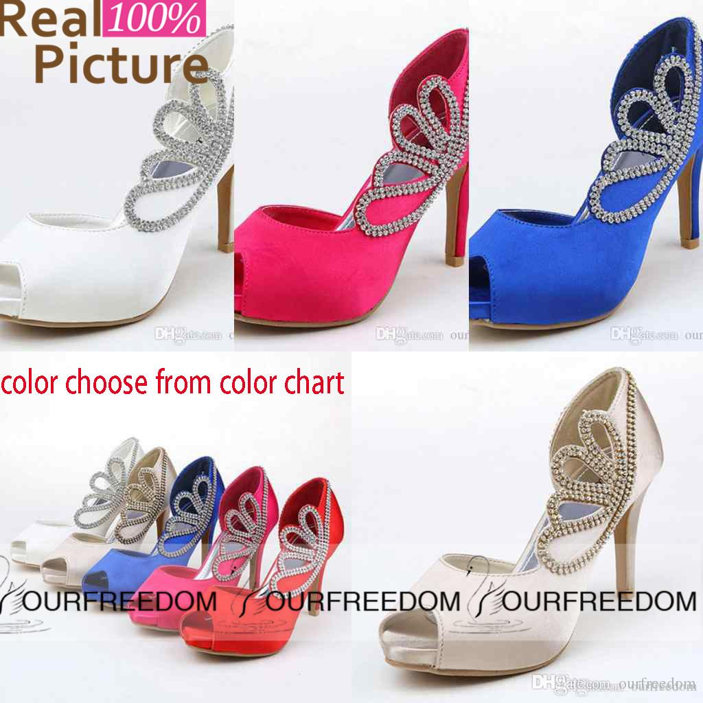 Rhinestone Crystal Open Peep To Wedding Shoes Gladiator Stiletto Heel Pumps  Heels Women S Prom Party Evening Dress Wedding Bridal Shoes ST02 Sandals  Shoes ... 5f94c19bb192