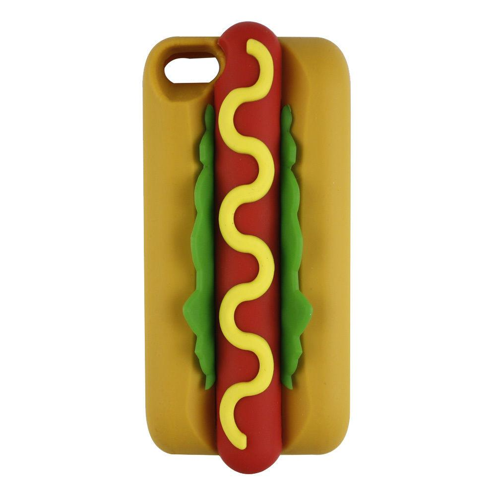 New Funny Delicious Food 3D Tempting Hot Dog Jam Bread Soft Silicone Rubber  Case Cover Apple IPhone 5 5S 6 4.7 IPhone6 Online with  2.9 Piece on Mxin s  ... 9afdd5dd2