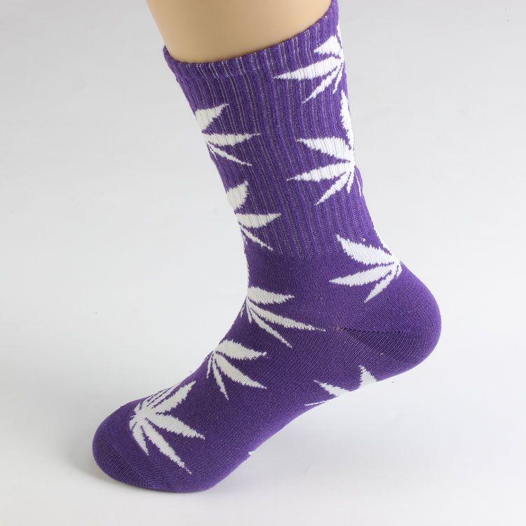 Männer Frauen Socken Plantlife Ahornblätter Streetwear Mode Baumwolle Sport Strümpfe Erwachsene Skateboard Socken Freies DHL 544