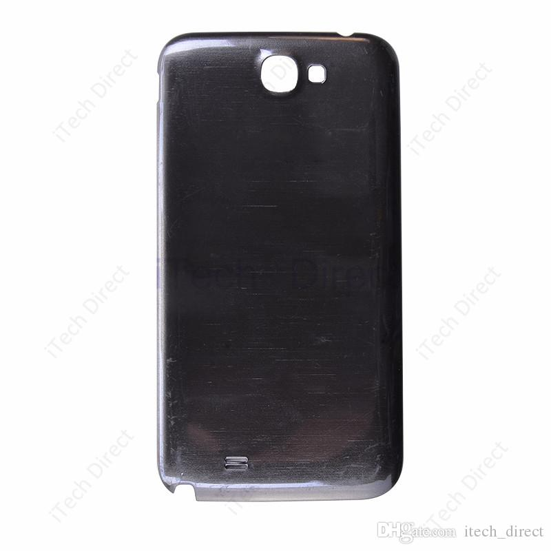 1pcs HK gratuit Poster Expédition Battery Back Cover Housing Pour Samsung Galaxy Note 2 N7100 Gris Blanc
