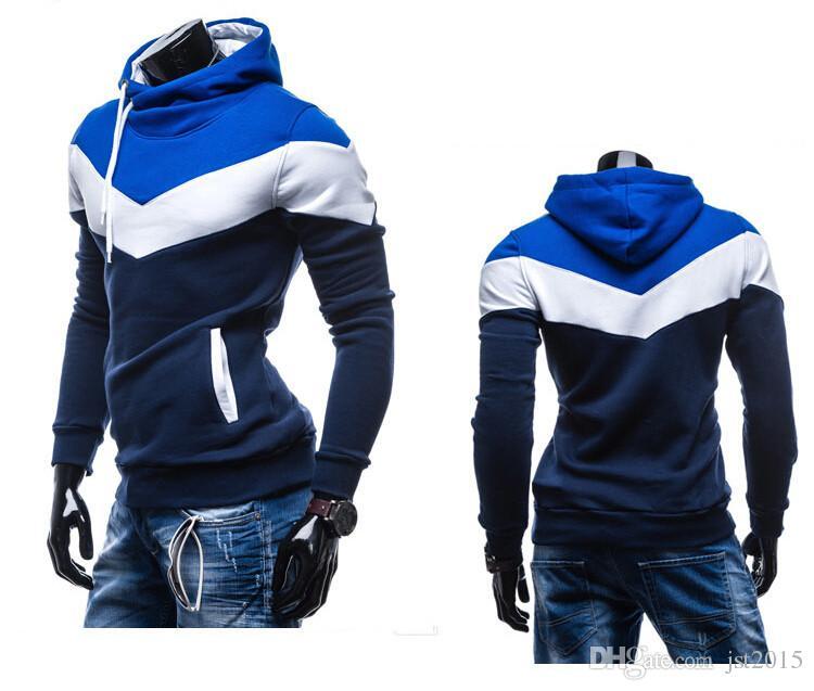 lässiger sweatshirt des neuen mannes hoody herren markensportklage fleece hoodie jacken männer sportbekleidung männer hoodie sweatshirt