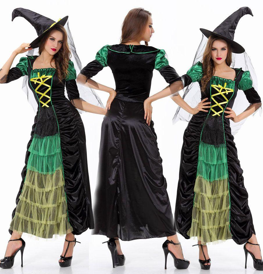 Sexy Witch Costume Halloween Costume For Women Role Playing ...