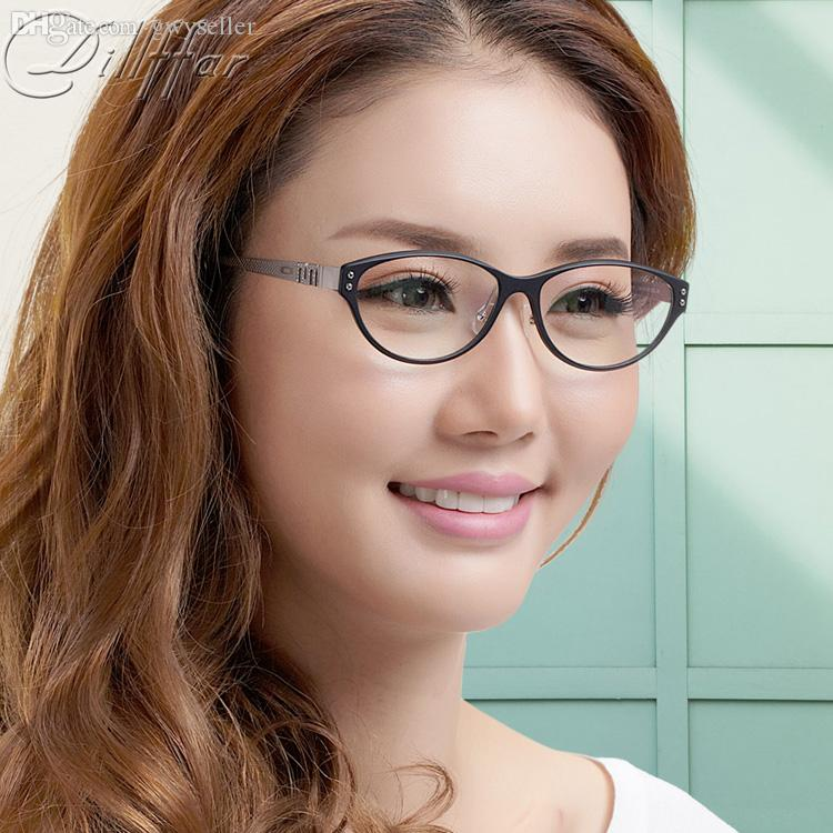 Wholesale-oculos Fashion Eyeglasses Small Vintage Cat-eye Belt Nose ... 4600e63e0