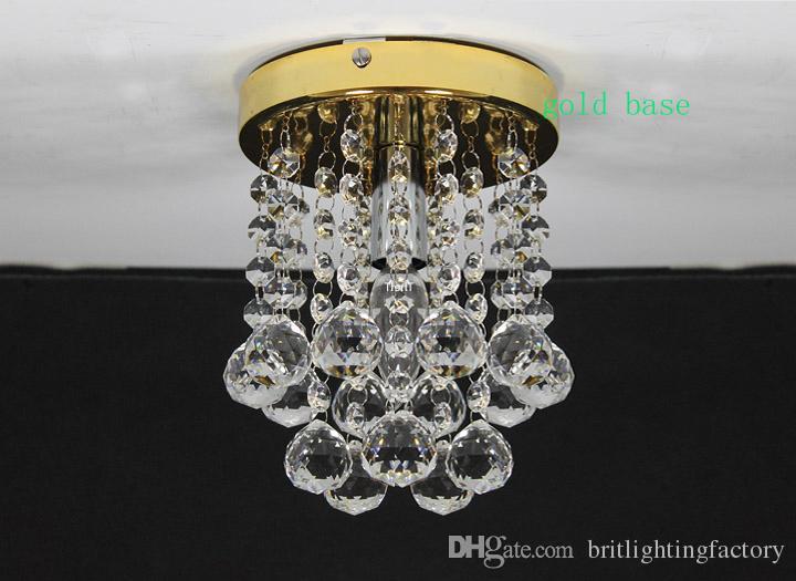 Modern led tavan ışıkları yatak odası LED tavan lambaları oturma odası Modern kristal tavan ışıkları için yüzeye monte Çin Lamba ev