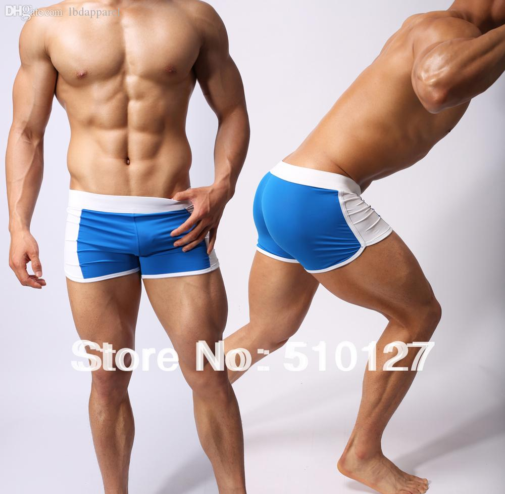 Wholesale-Hot Blue Sports Underwear Mens Swimwear ...