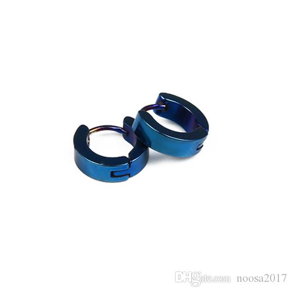 New fashion anti-allergic Stainless Steel earrings men and women earrings punk ear clip without ear piercings ear clip Screw Back