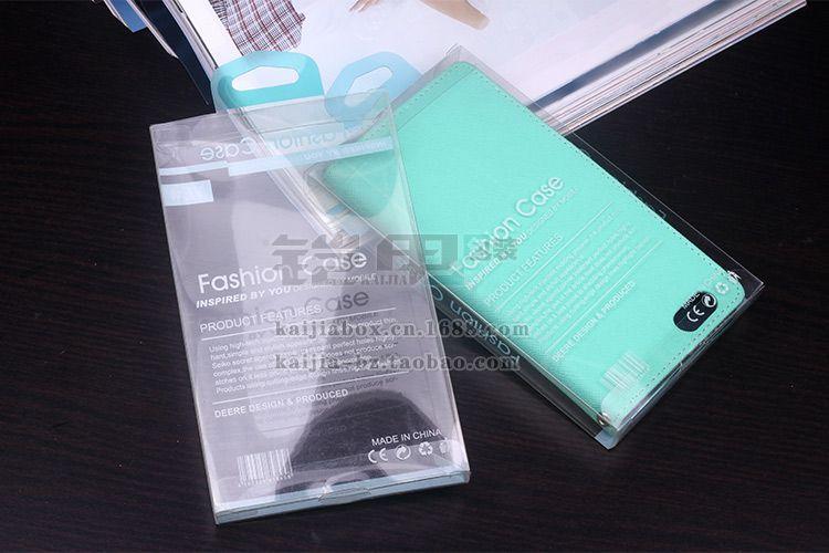 168 * 98 * 17mm Retail Package Plastlåda Förpackningsboxar för iPhone 6 Plus 5 4S Samsung S5 S4 S3 Mobiltelefon Hårdväska Läderfodral Nej Infoga