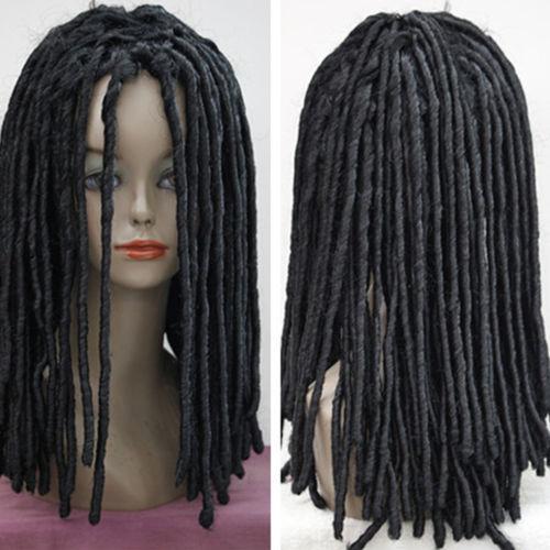***rasta Style Wig African Black Wig Long Curly Black Hair ...