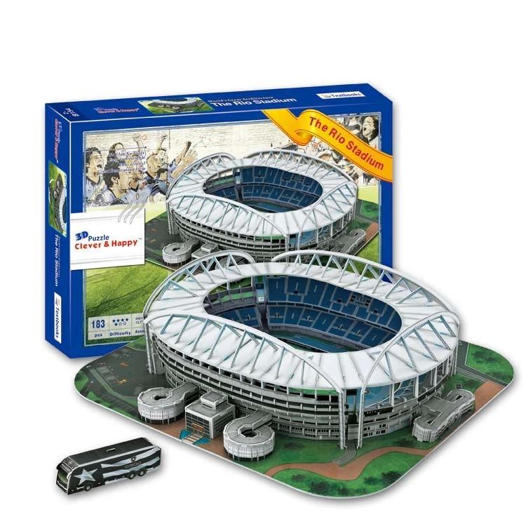 Football Toys For Boys : D puzzle model olympic stadium maracana football rio de