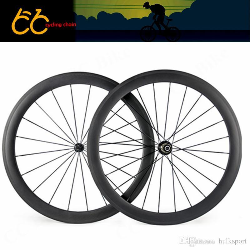Factory sale road bicycle wheels 50mm wheels clincher carbon wheels 23mm width oem carbon wheelset