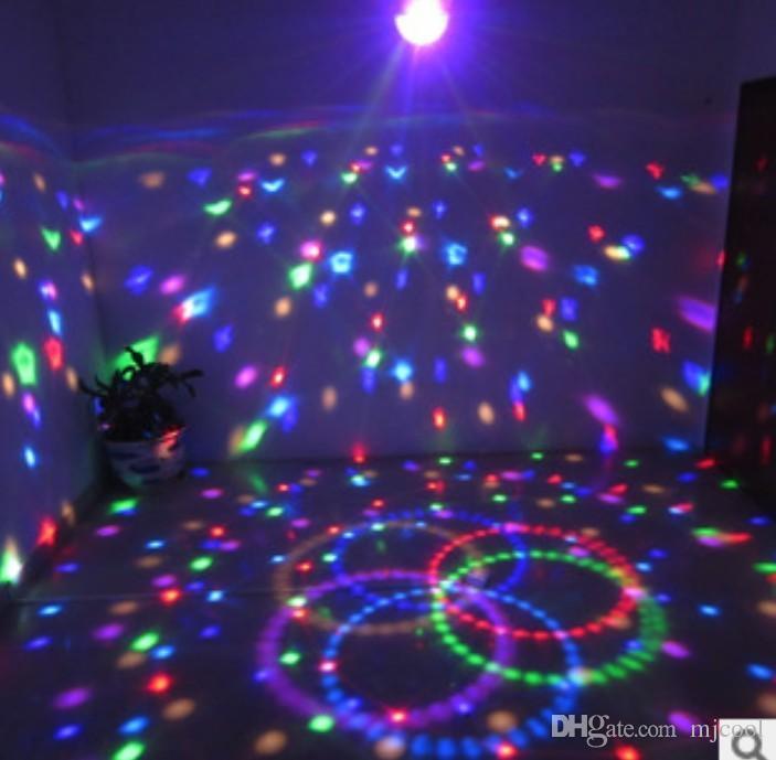 ADSLED 9 LED DMX 512 Uzaktan Kumanda Güzel Kristal Sihirli Etkisi Topu Işık DMX Disko DJ Sahne Aydınlatma Oyun
