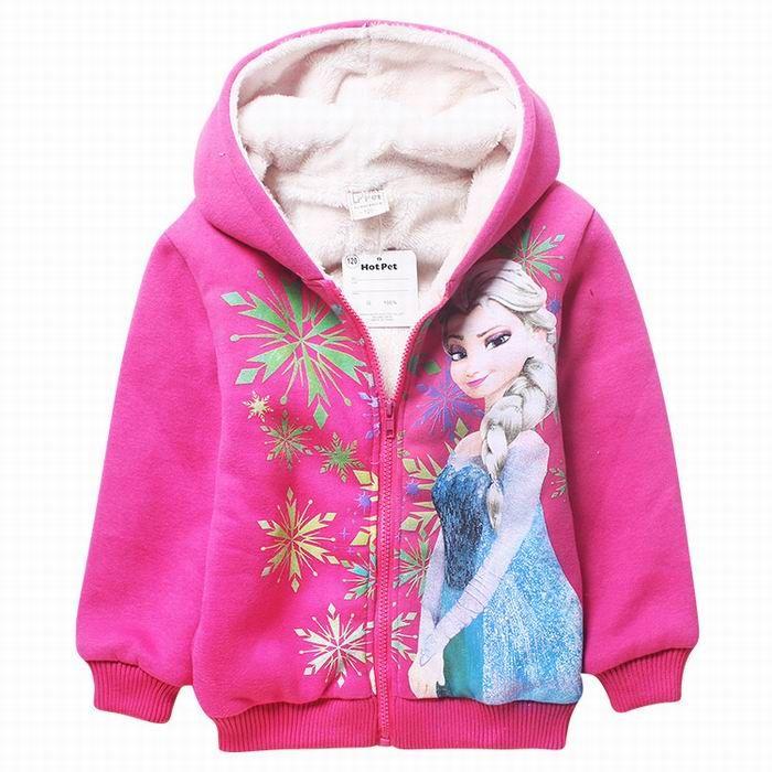 2018 Frozen Big Girls Hoodies Sweatshirt For Winter ...