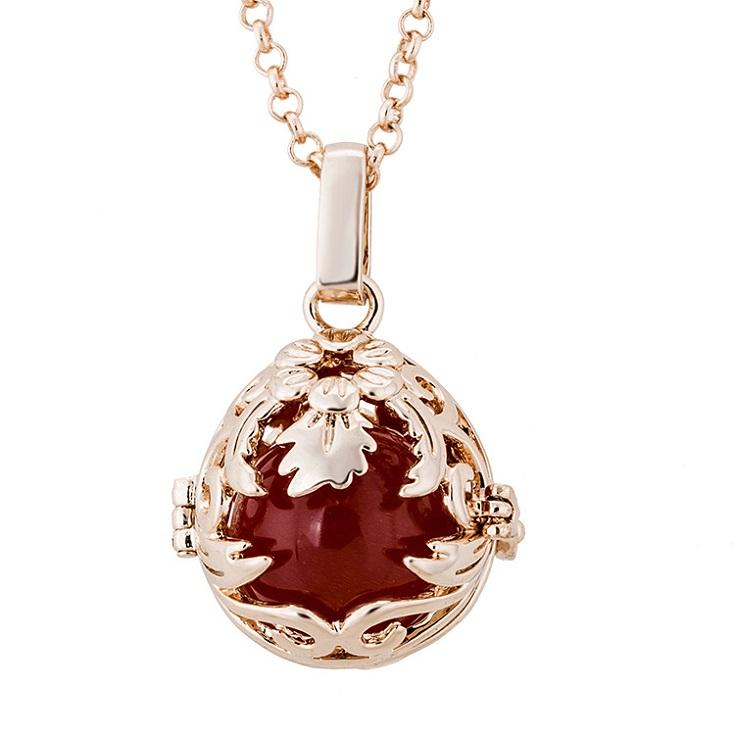 Pregnancy Ball Bola Baby Chime Necklace Pregnant women can open the music Pendant Necklace Pregnancy Ball Factory direct sales