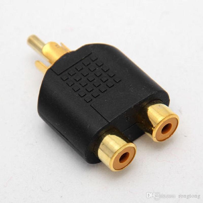 Best Rca Y Splitter Phono Audio Video Y Splitter Socket