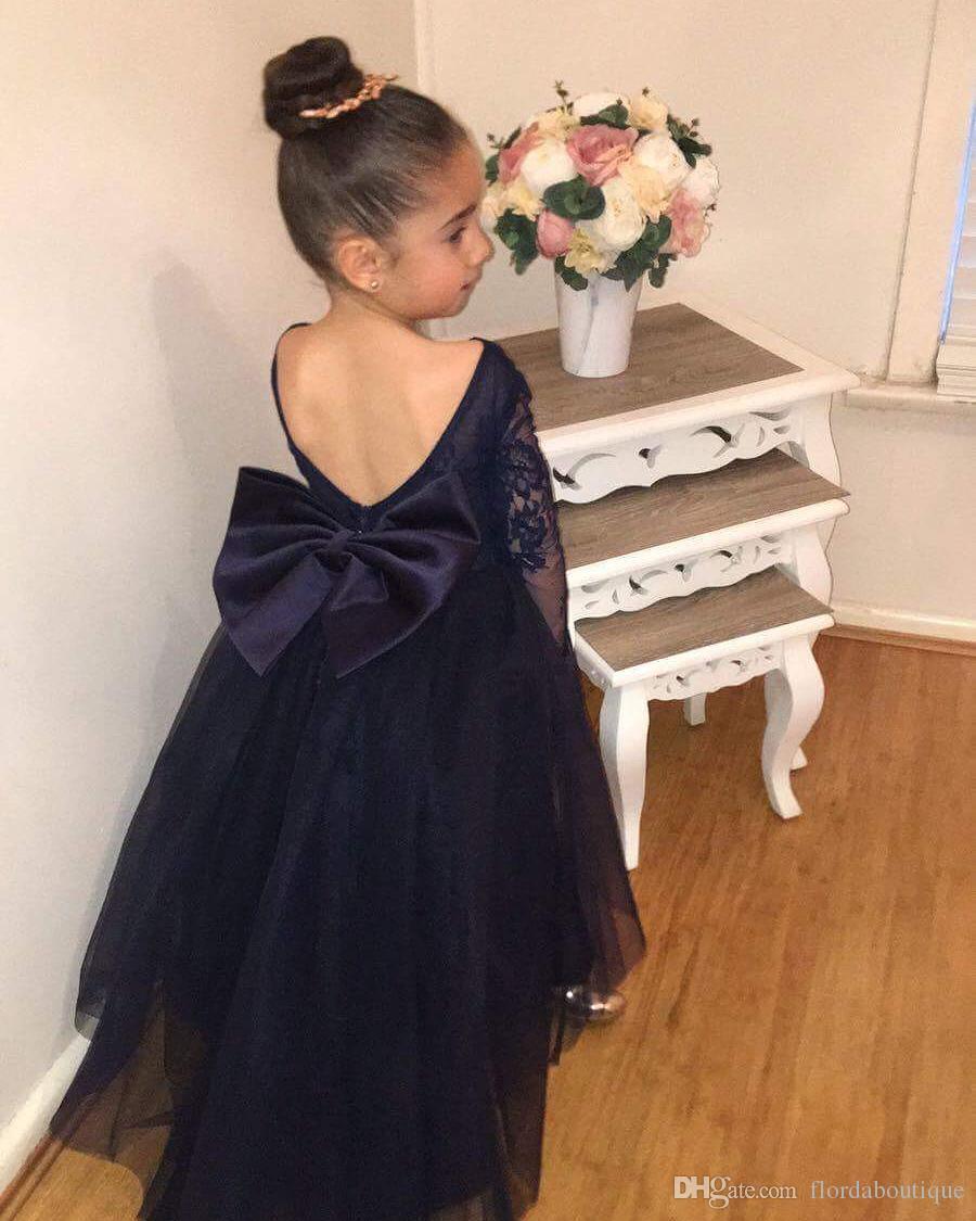 Long Sleeve Flower Girl